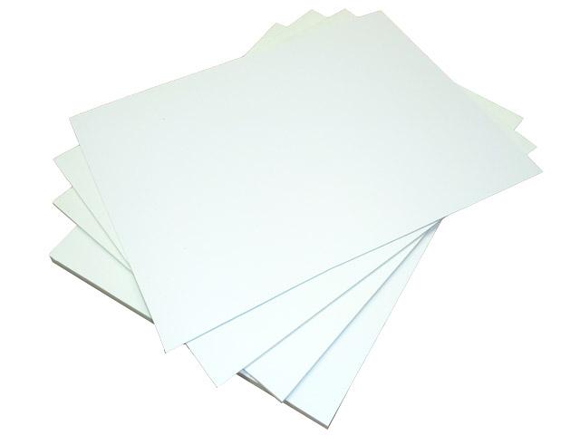 Листовой вспененный ПВХ 3 мм, белый, 35 х26 мм, в