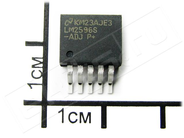 Lm2596s импульсный регулируемый 5a