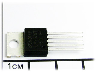LM2576T-5.0, TO-220, 52 kHz, 3A, 5,0V