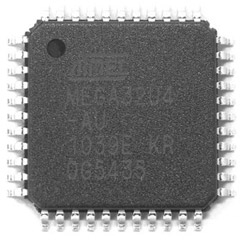 ATMega32U4-AU, TQFP-44, 16MHz, Flash program memory 32K, 1Kb EEPROM, 2.5K SRAM, with USB Controller