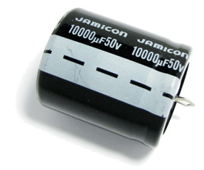 Конденсатор, 10000мкФ х 63В, 85C, jamicon