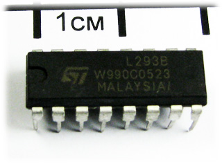 L293B, PUSH-PULL FOUR CHANNEL DRIVERS, DIP-16