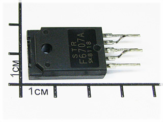 STRS6707, OFF-LINE SWITCHING REGULATORS
