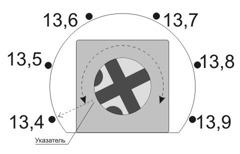 Регулировка напряжения контроллера заряда SCD0049